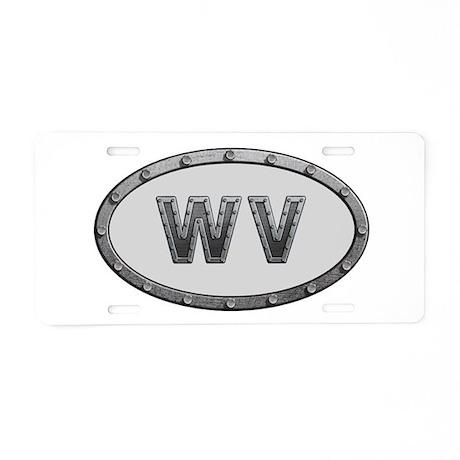 WV Metal Aluminum License Plate