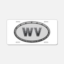 WV Metal Aluminum License Plate