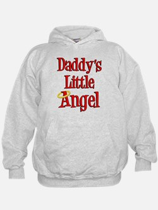 Daddys Little Angel Hoodie