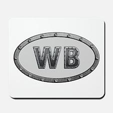 WB Metal Mousepad