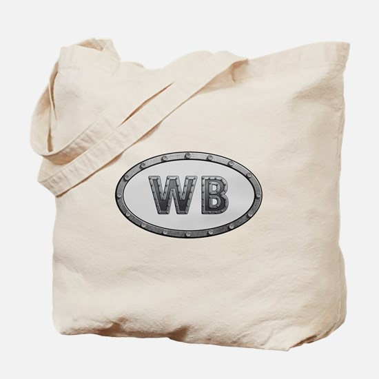 WB Metal Tote Bag