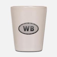WB Metal Shot Glass