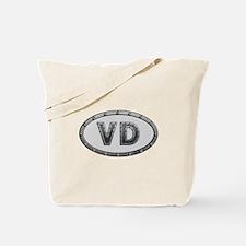 VD Metal Tote Bag