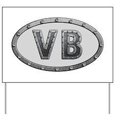 VB Metal Yard Sign