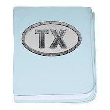 TX Metal baby blanket