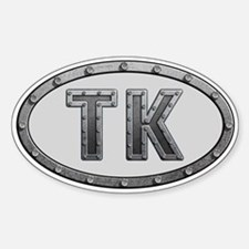 TK Metal Decal