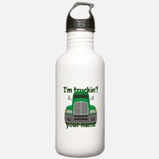 Personalized Im Truckin Water Bottle