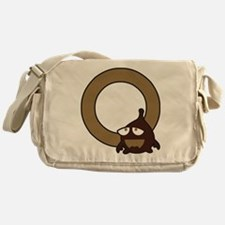 Buchstabe O Messenger Bag