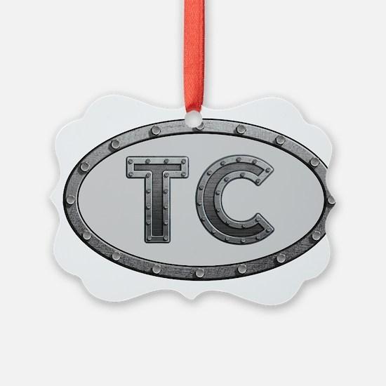 TC Metal Ornament