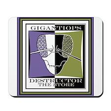Inverse Gigantiops Logo Mousepad