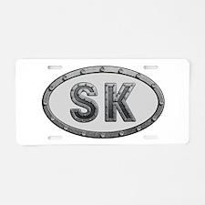 SK Metal Aluminum License Plate