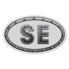 SE Metal Decal