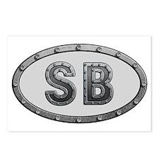 SB Metal Postcards (Package of 8)
