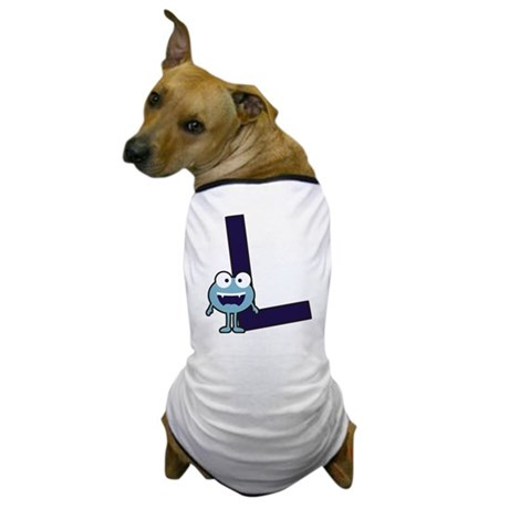 Buchstabe L Dog T-Shirt