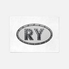 RY Metal 5'x7'Area Rug