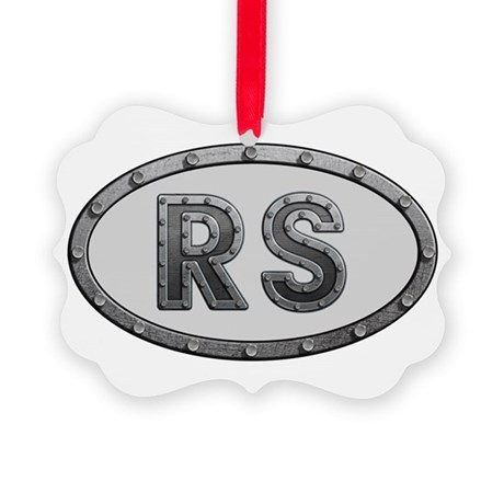 RS Metal Picture Ornament