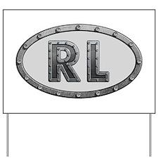 RL Metal Yard Sign