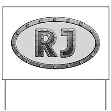 RJ Metal Yard Sign