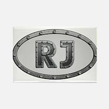 RJ Metal Rectangle Magnet