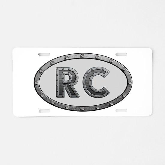 RC Metal Aluminum License Plate
