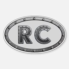 RC Metal Sticker (Oval)