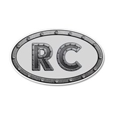 RC Metal Wall Decal