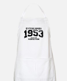 Established 1953 - Aged to perfection Apron