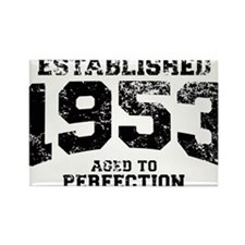 Established 1953 - Aged to perfection Rectangle Ma