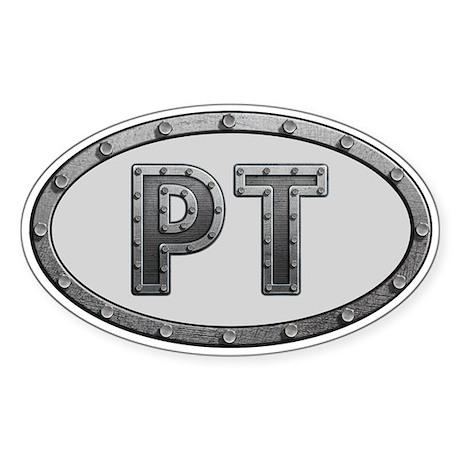 PT Metal Sticker (Oval 10 pk)