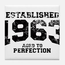 Established 1963 - Aged to perfection Tile Coaster