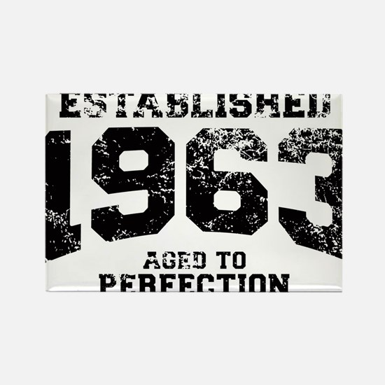 Established 1963 - Aged to perfection Rectangle Ma