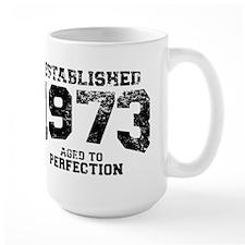 Established 1973 - Aged to perfection Mug