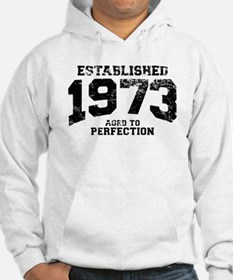Established 1973 - Aged to perfection Hoodie