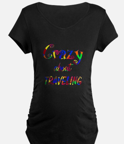 Crazy About Traveling T-Shirt