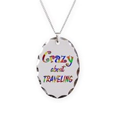 Crazy About Traveling Necklace