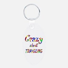 Crazy About Traveling Keychains