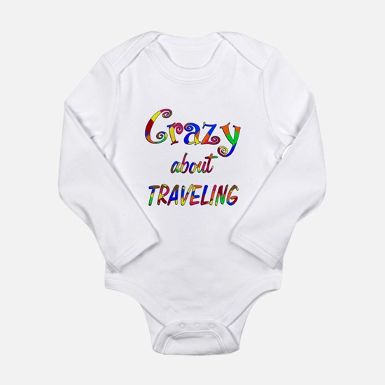 Crazy About Traveling Onesie Romper Suit