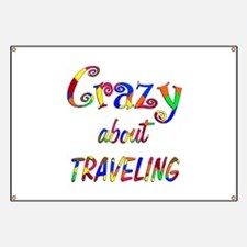 Crazy About Traveling Banner