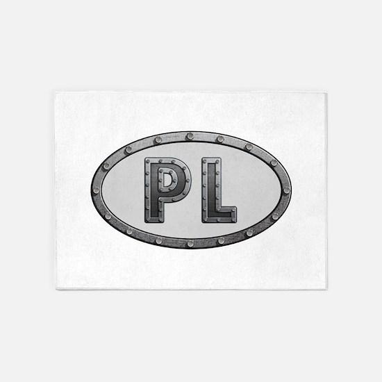 PL Metal 5'x7'Area Rug