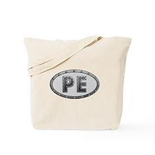 PE Metal Tote Bag