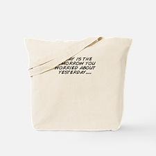 Unique Worried Tote Bag
