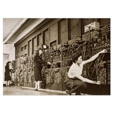 ENIAC, the second electronic calculator Poster