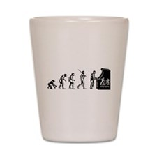 Video Game Evolution Shot Glass