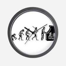 Video Game Evolution Wall Clock