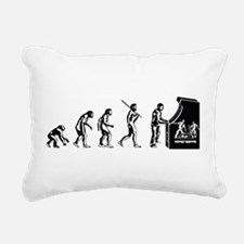 Video Game Evolution Rectangular Canvas Pillow