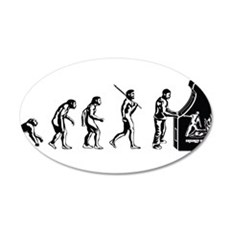 Video Game Evolution Wall Decal