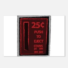 25c Push To Eject Postcards (Package of 8)