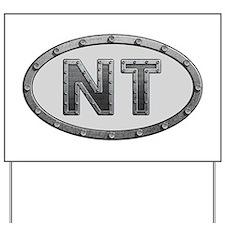NT Metal Yard Sign