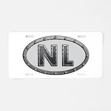 NL Metal Aluminum License Plate