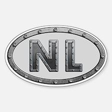 NL Metal Decal